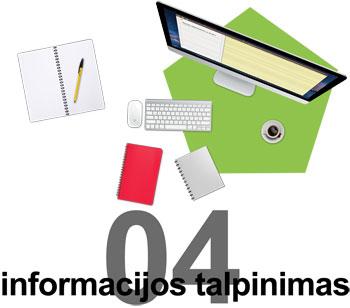 Informacijos ir turinio talpinimas tinklapyje