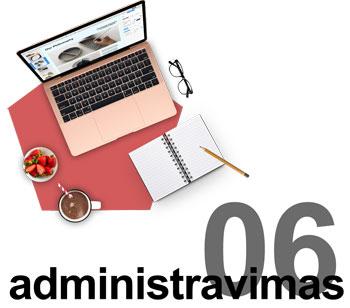Internetinių svetainių administravimas