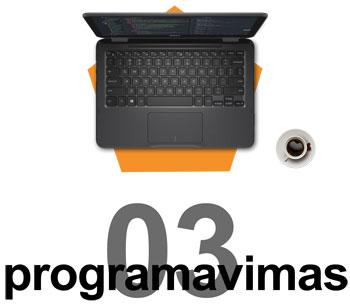 Internetinių svetainių kūrimas ir programavimas
