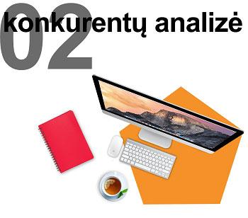 Firminio stiliaus kūrimo konkurentų analizė