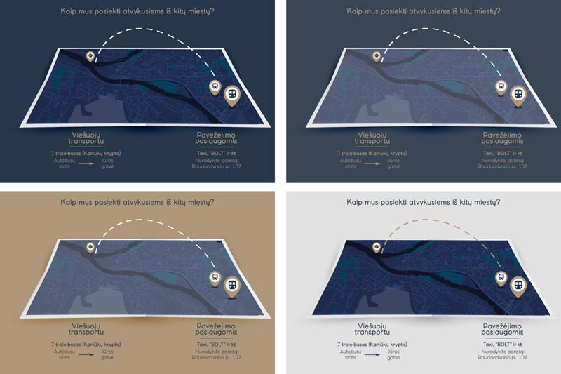 Laivas raketa - žemėlapis